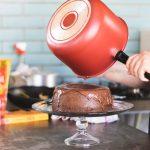 Как отмыть карамель от кастрюли?
