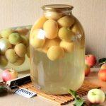 Почему компот из яблок помутнел?