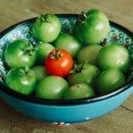 Как дозреть зеленые помидоры?