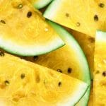 С чем скрещен желтый арбуз?